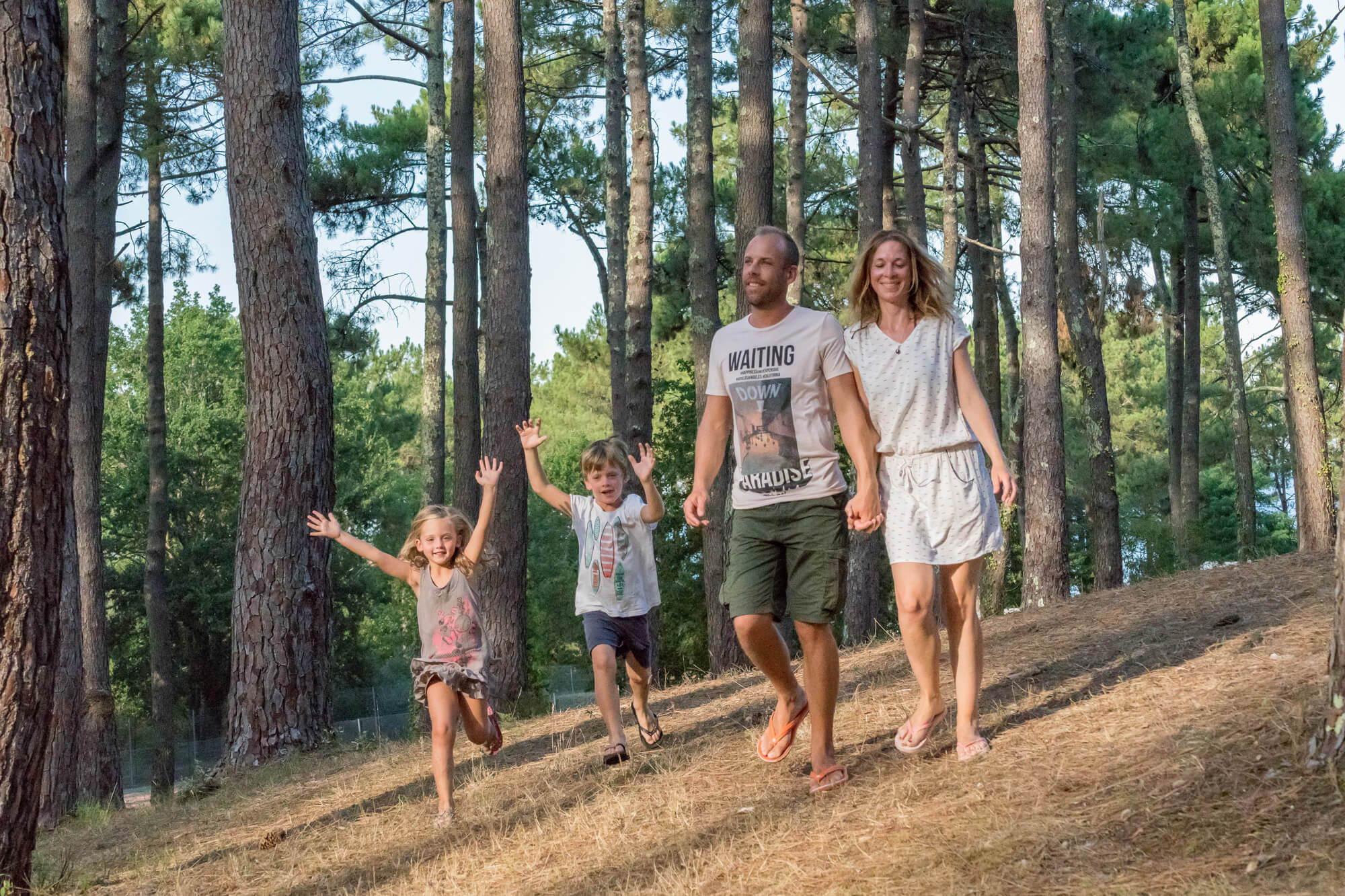 Camping familial Landes