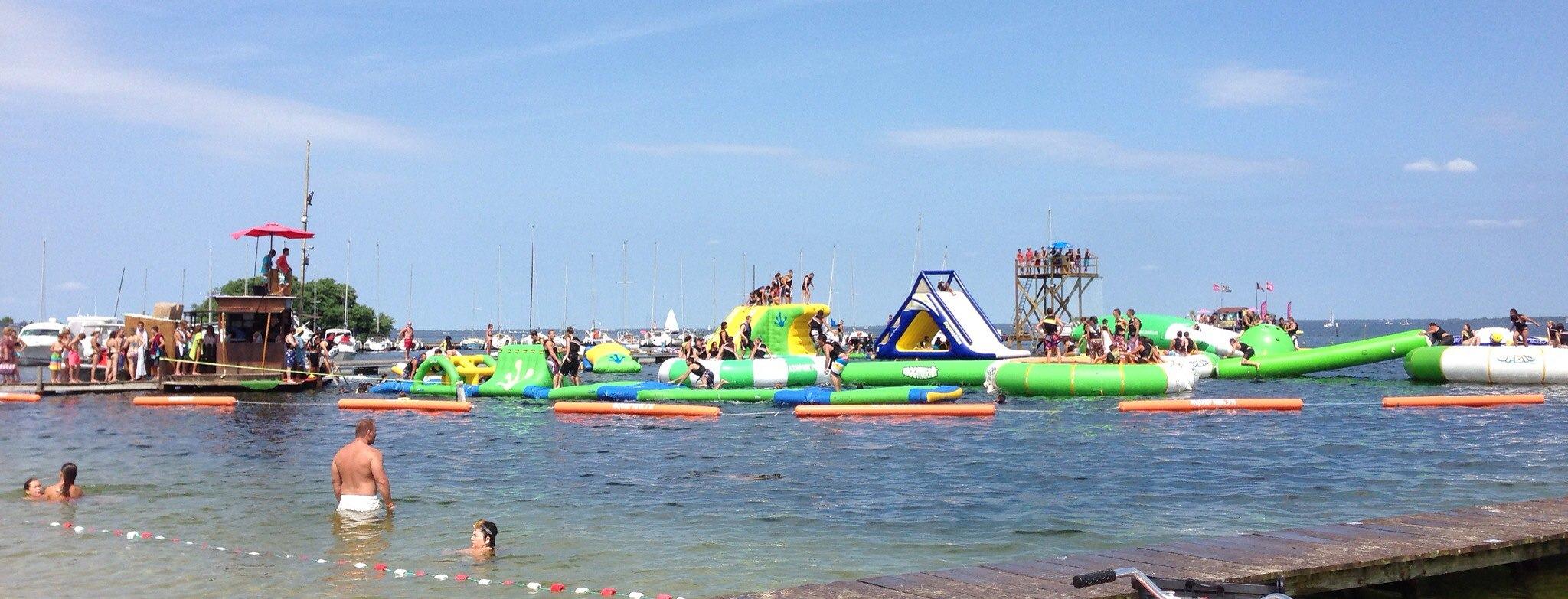 Aquapark lac de sanguinet : une activité à faire dans les Landes!