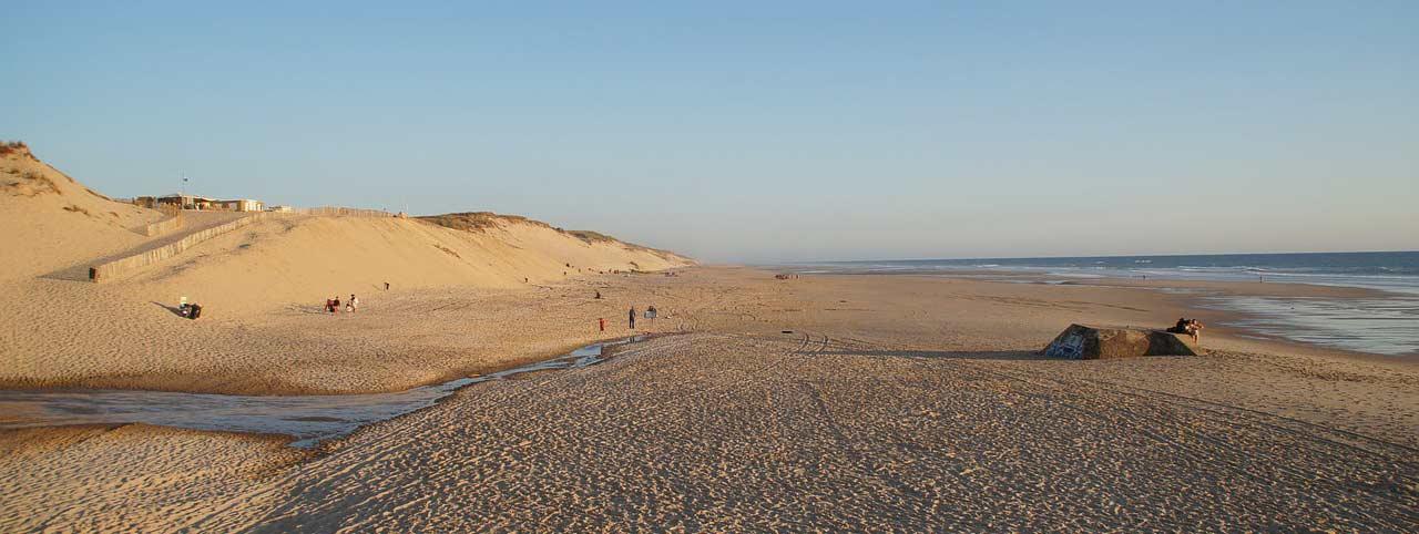 les plages de biscarrosse