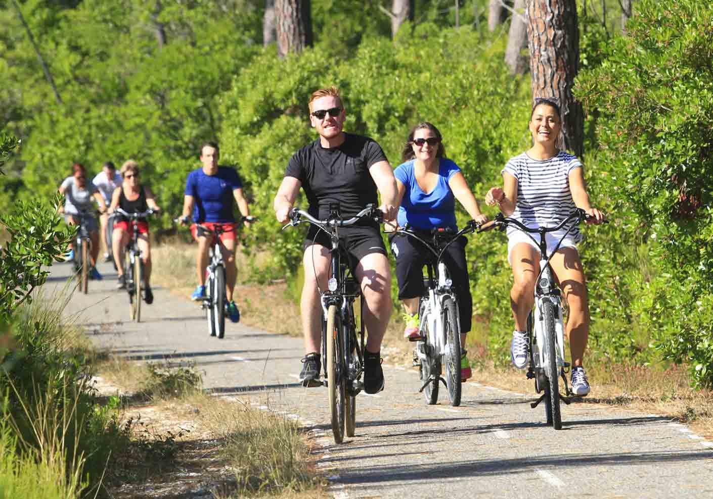 Piste Cyclable Biscarrosse Itineraire Et Plan Des Pites Cyclables