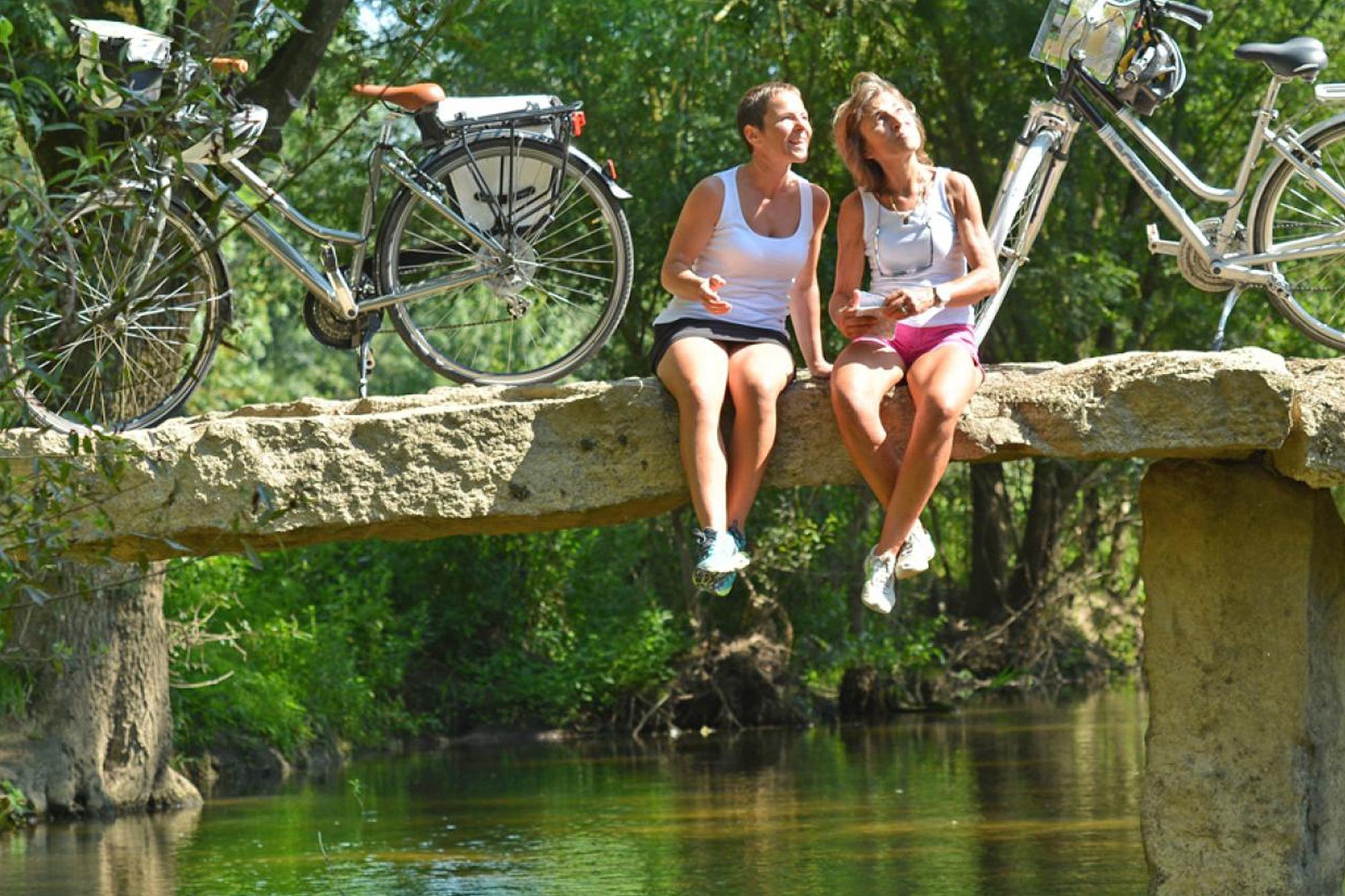 Camping Slow Village Loire Vallée, Les Ponts de Cé, vélo, Francette à Artannes sur Thouet, J-Damase